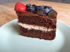 Taart limoen chocolade recept fruit vers