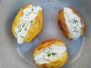 gepofte aardappel van de BBQ Big Green Egg recept mr and ms in the kitchen
