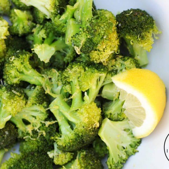 broccoli met citroen citroenrasp citroensap citroenolie olie extra vierge citroenolie mr and ms in the kitchen recept