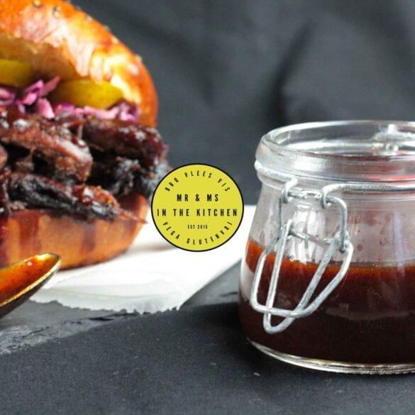 BBQ saus met port zelf maken lekker recept mr and ms in the kitchen